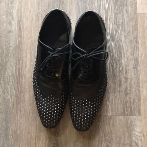 Black Studded Special Edition Brogues